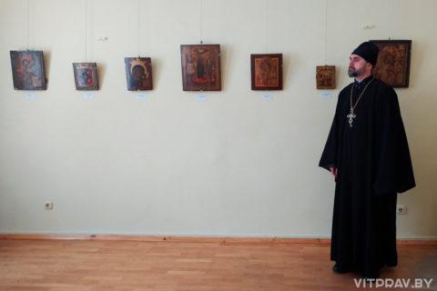 """""""Духовный щит"""" - в Художественном музее города Витебска прошла беседа со священником"""