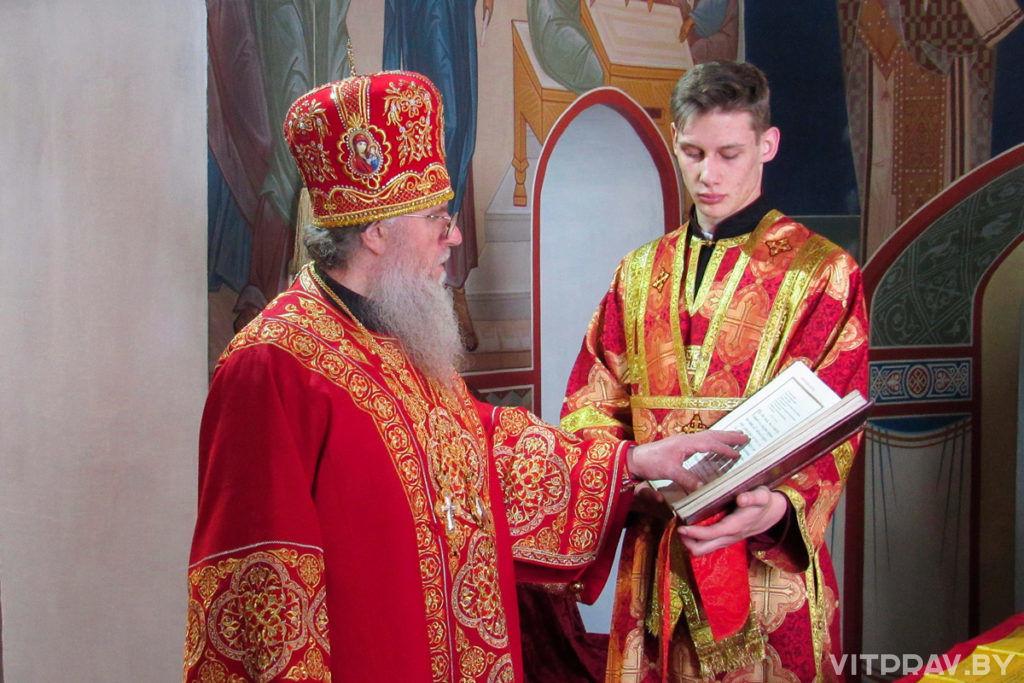 В Неделю 5-ю по Пасхе архиепископ Димитрий совершил Литургию в Свято-Троицком Марковом мужском монастыре
