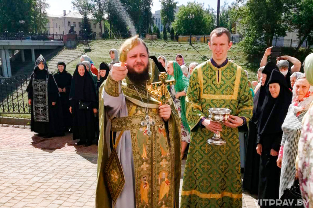 В Свято-Духовом монастыре города Витебска отметили престольный праздник