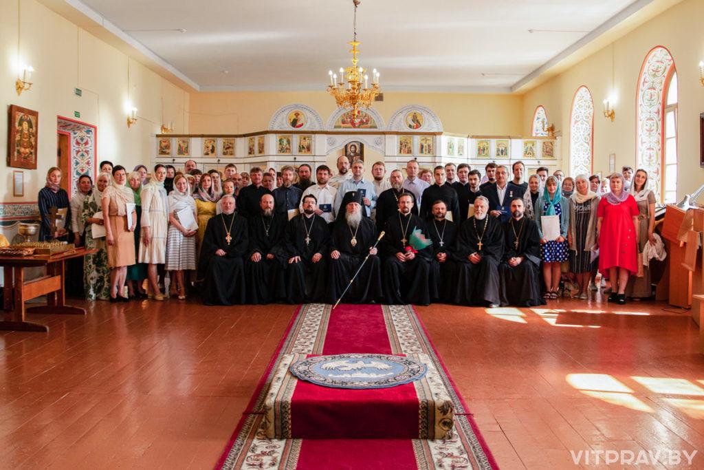В Витебской духовной семинарии состоялся торжественный выпускной акт