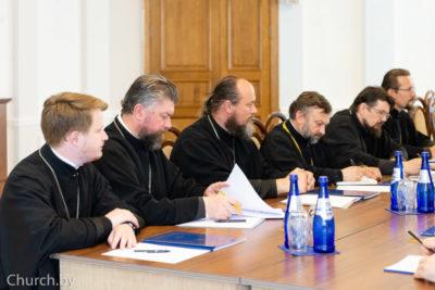Представители Витебской епархии приняли участие в рабочем совещании ректоров и проректоров духовных учебных заведений БПЦ