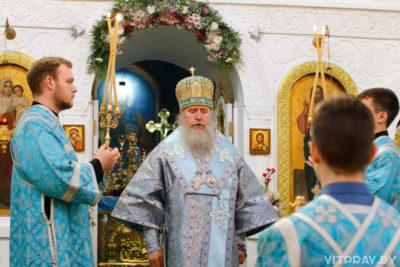 В канун праздника Казанской иконы Божией Матери архиепископ Димитрий совершил всенощное бдение в Свято-Троицком Марковом мужском монастыре города Витебска