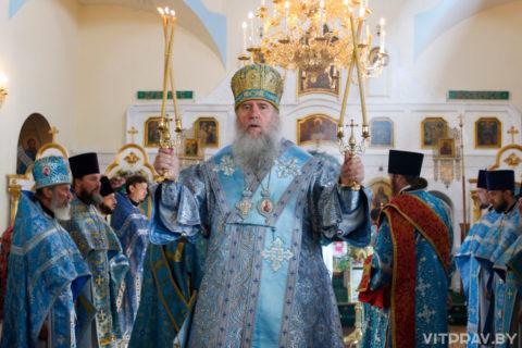 В праздник Казанской иконы Божией Матери архиепископ Димитрий совершил Литургию Свято-Троицком Марковом мужском монастыре города Витебска в