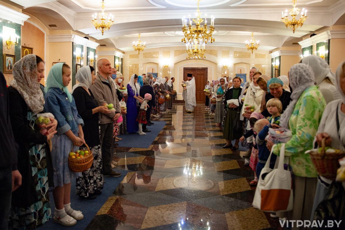 Престольный праздник в храме Преображения Господня города Витебска. Фоторепортаж