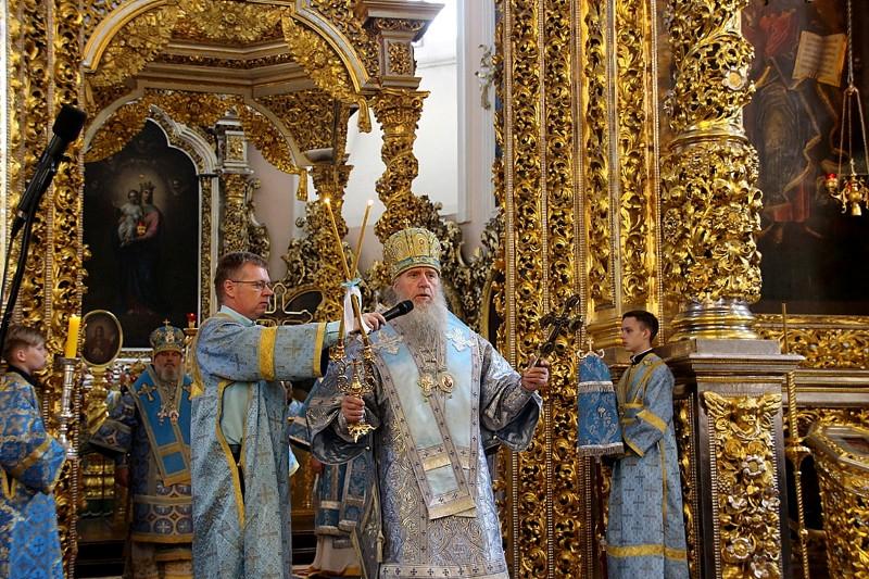Архиепископ Димитрий принял участие в торжествах в честь Смоленской иконы Божией Матери, именуемой «Одигитрия», в городе Смоленске