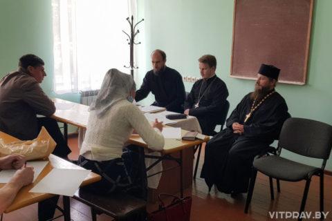 В Оршанском духовном училище прошли вступительные экзамены