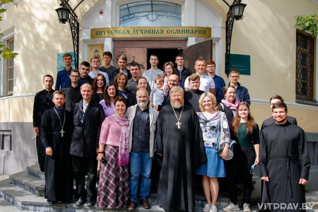 Витебскую духовную семинарию посетил руководитель Христианского фонда молодежных программ «Вместе-на-Планете»