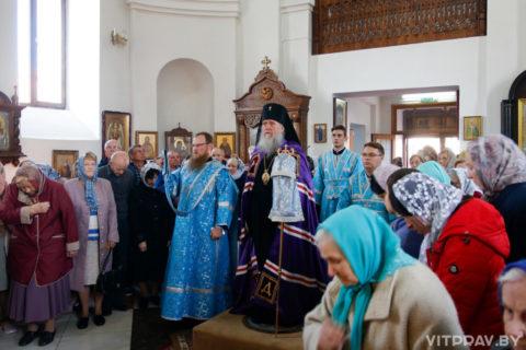 В храме Рождества Пресвятой Богородицы города Орши отметили престольный праздник