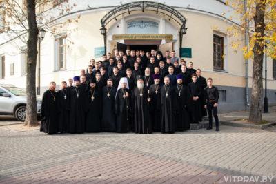 Митрополит Вениамин посетил Витебскую духовную семинарию