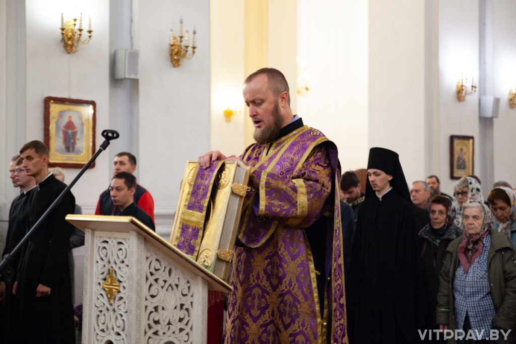 Митрополит Минский и Заславский Вениамин посетил Витебскую епархию с официальным визитом