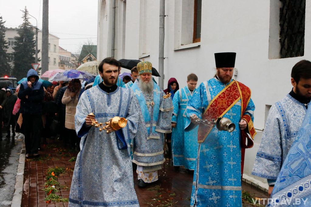 В Свято-Покровском соборе города Витебска отметили престольный праздник