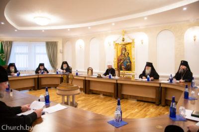 Архиепископ Димитрий принял участие в совещании архиереев Белорусской Православной Церкви