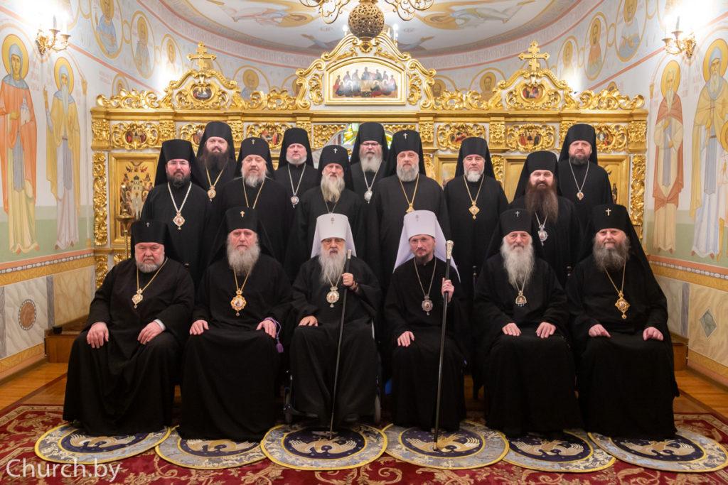 В Белорусском Экзархате молитвенно отметили день тезоименитства митрополита Филарета