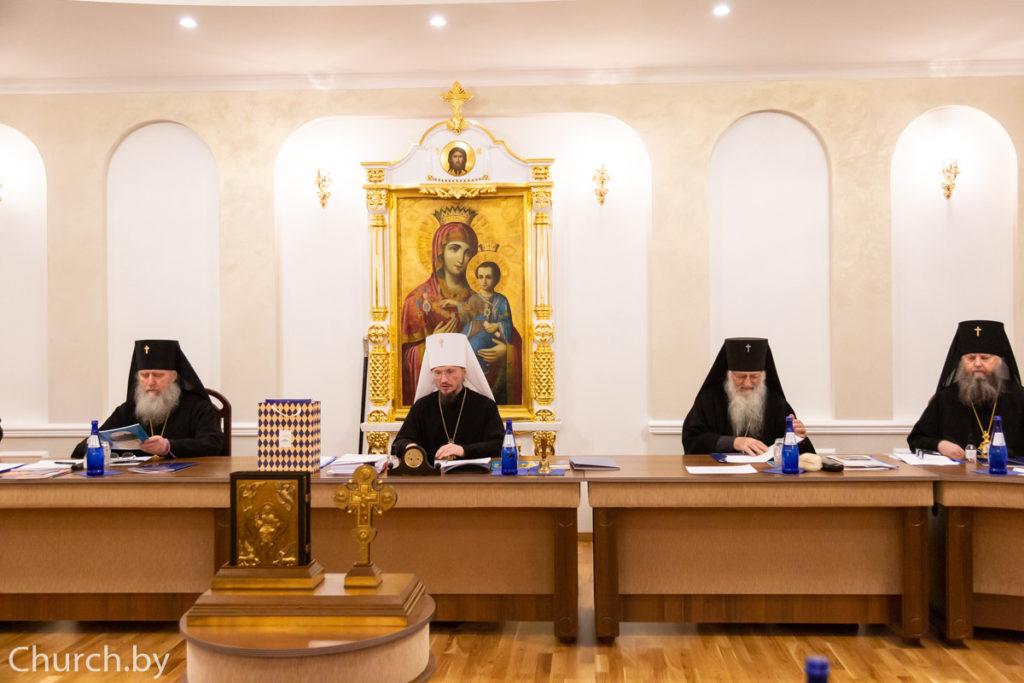 Архиепископ Димитрий принял участие в заключительном в 2020 году заседании Синода Белорусской Православной Церкви