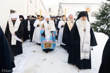 Архиепископ Димитрий принял участие в погребении новопреставленного митрополита Филарета