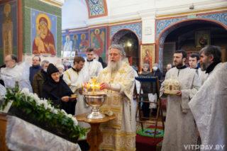 Божественная литургия в праздник Богоявления. Фоторепортаж