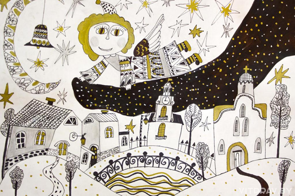 Результаты проведения выставки-конкурса детского творчества «Рождественские мотивы»