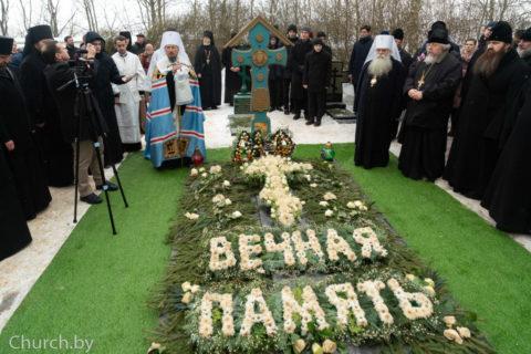 Архиепископ Димитрий принял участие в заупокойных богослужениях на 40-й день по кончине митрополита Филарета в Жировичах