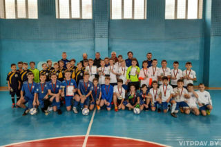 В Орше состоялся I Рождественский турнир 2021 года по футболу среди юношей