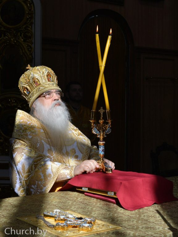 Слово Синода Белорусской Православной Церкви в сороковой день со времени преставления Высокопреосвященнейшего митрополита Филарета