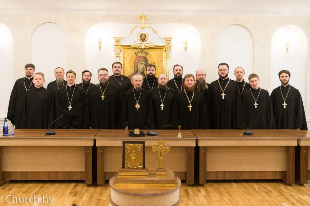 Митрополит Вениамин встретился с главами миссионерских отделов епархий Белорусской Православной Церкви