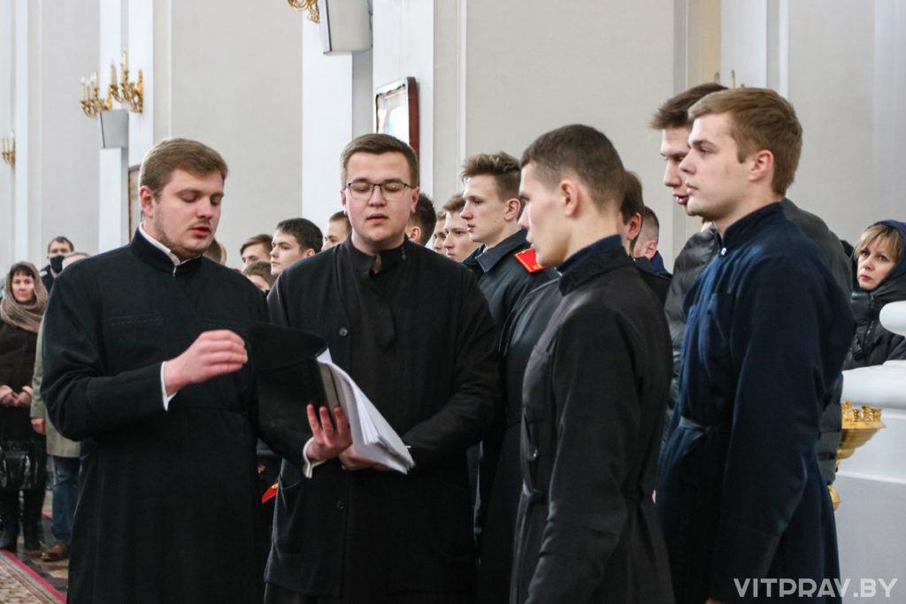 В Свято-Успенском кафедральном соборе города Витебска почтили память жертв катастрофы на на Чернобыльской АЭС