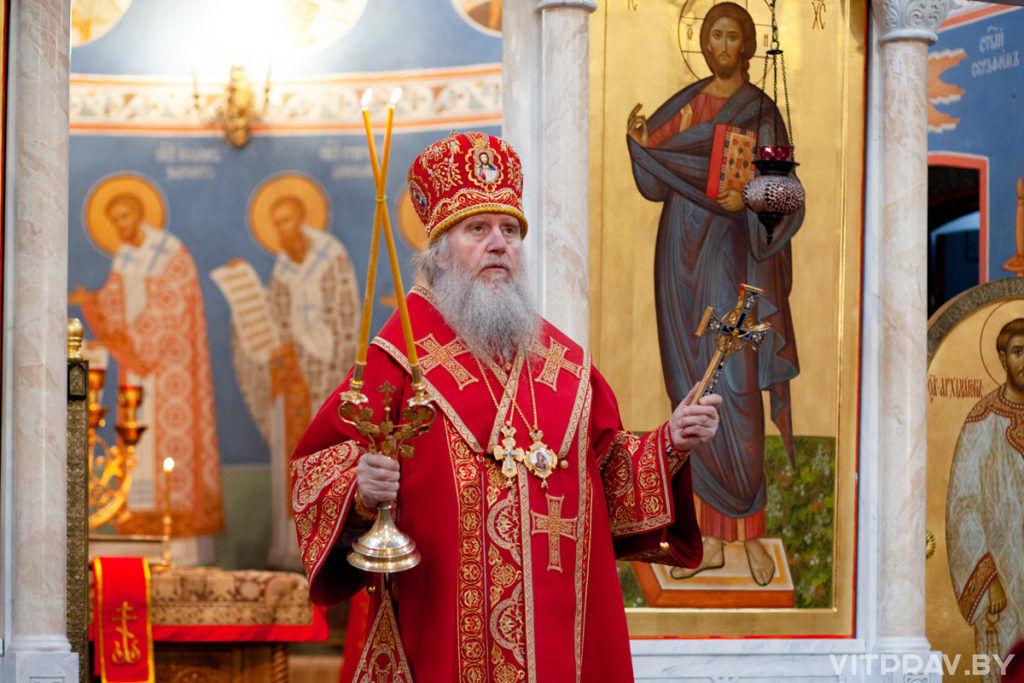 В храме Воскресения Христова отметили престольный праздник