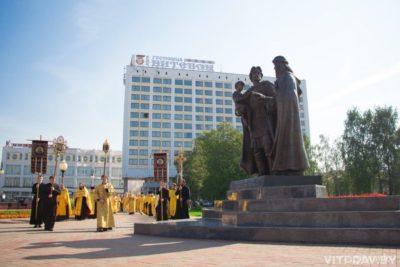 22 мая в Витебске будет проходить крестный ход, посвященный 800-летию святого благоверного князя Александра Невского
