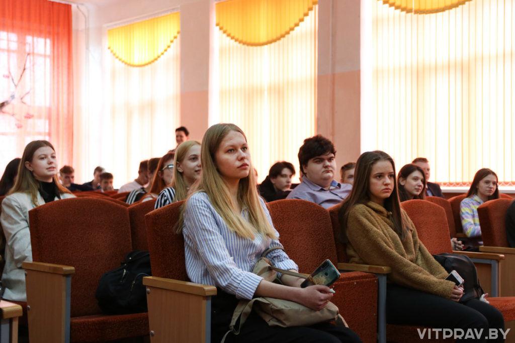 В СШ № 18 города Витебска прошла олимпиада, посвященная 800-летию со дня рождения святого благоверного князя Александра Невского