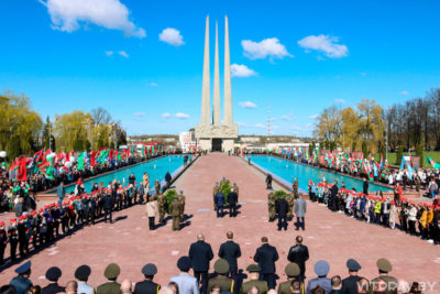 Представители Витебской епархии приняли участие в мероприятиях по случаю 76-ой годовщины Победы в Великой Отечественной войне