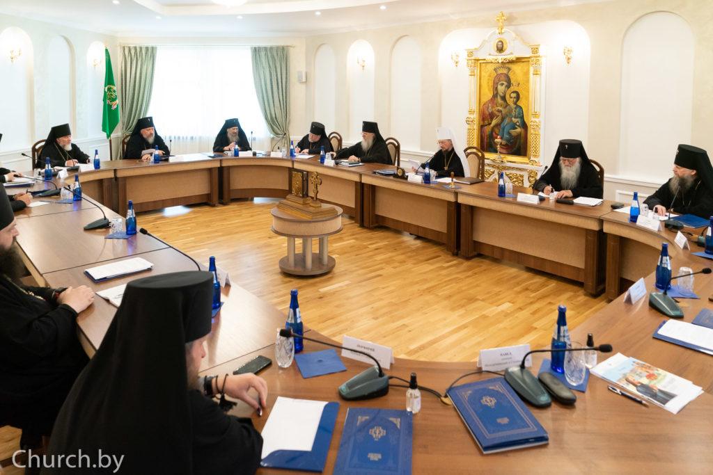 Архиепископ Димитрий принял участие в заседании Синода Белорусской Православной Церкви