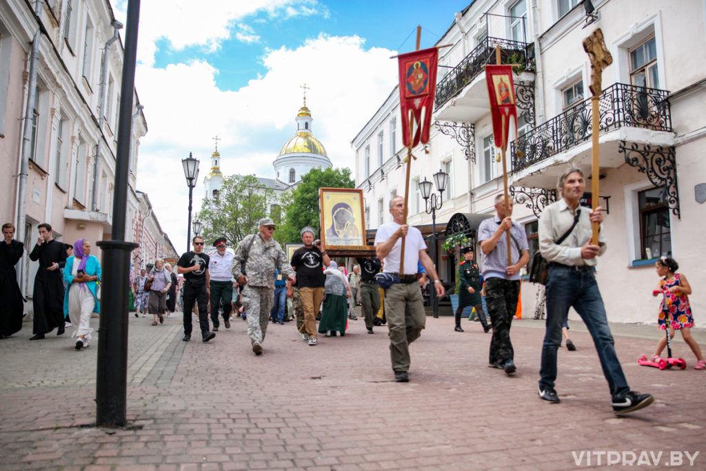 Из Витебска в Туров вышел 4-й Всебелорусский крестный ход «Не в силе Бог, а в правде!»