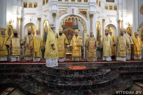 В Витебске прошли торжества, посвященные 800-летию со дня рождения святого благоверного князя Александра Невского