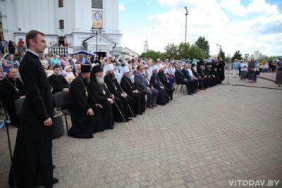 В Витебске прошел праздничный концерт, посвященный 800-летию святого благоверного князя Александра Невского