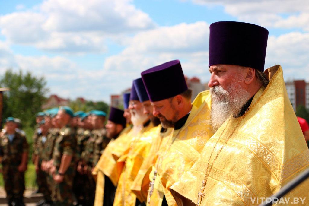 Патриарший Экзарх освятил место будущего строительства Софийского собора