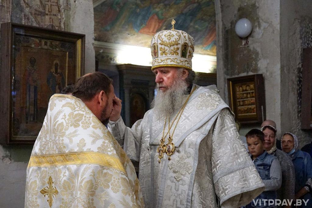 В канун Преображения Господня архиепископ Димитрий совершил всенощное бдение в храме святой великомученицы Ирины города Москвы