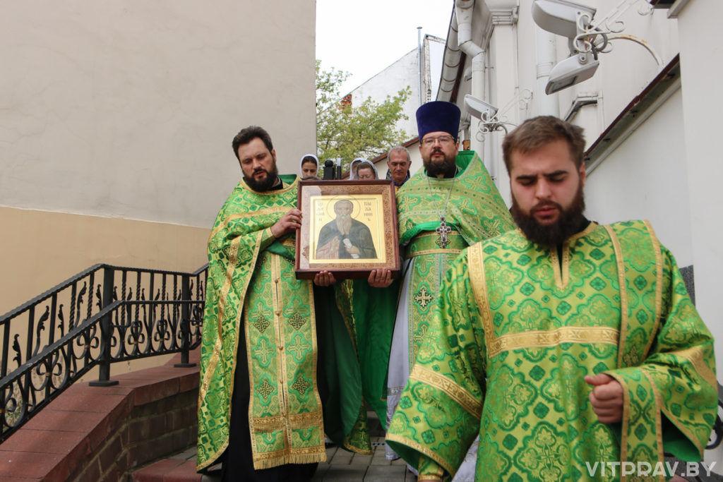 В храме святого преподобного Антония Римлянина отметили престольный праздник