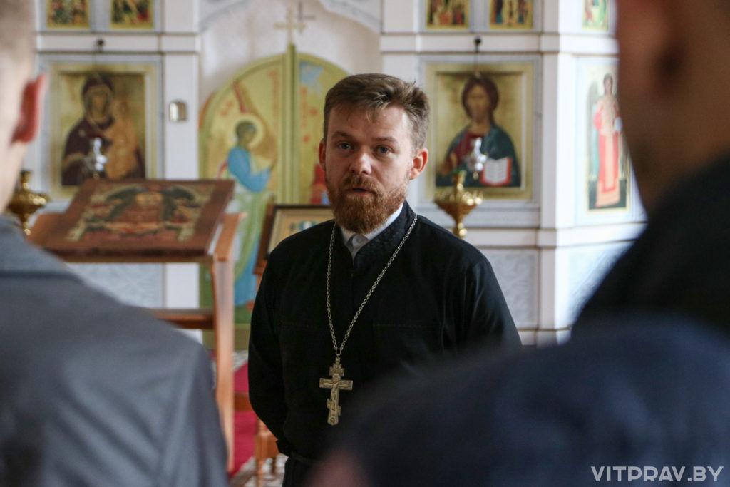 Витебскую духовную семинарию посетили воспитанники Детского дома города Витебска