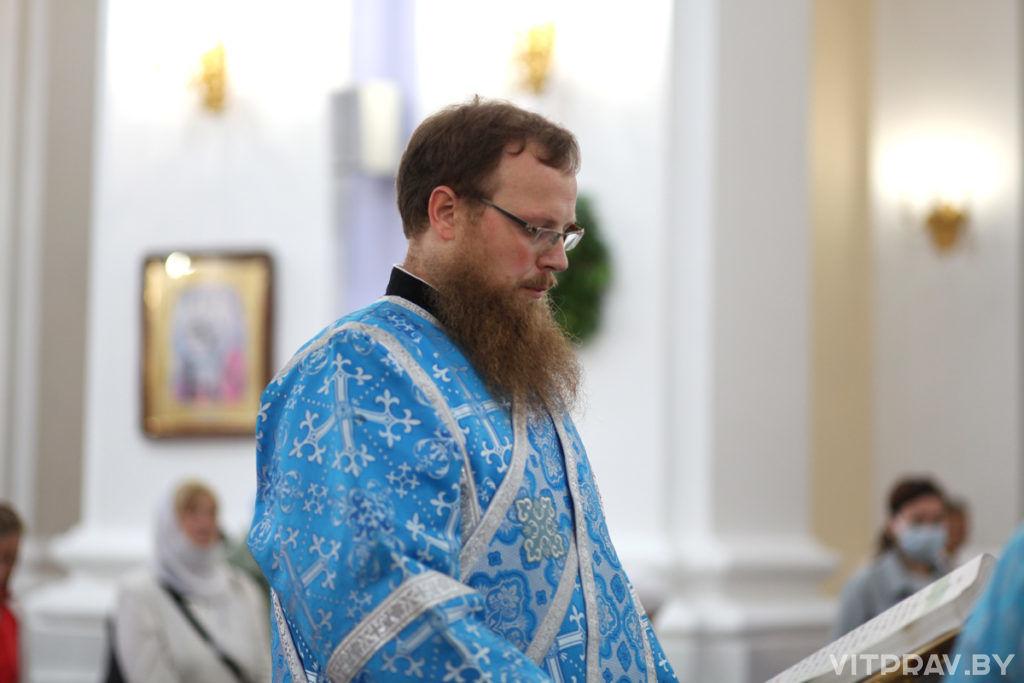 В Витебске торжественно отметили праздник Успения Пресвятой Богородицы