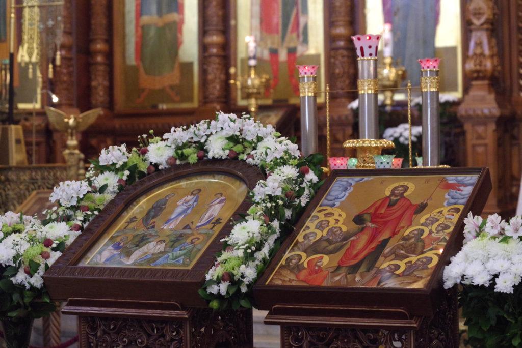 В Неделю 9-ю по Пятидесятнице архиепископ Димитрий сослужил митрополиту Ташкентскому и Узбекистанскому Викентию в Александро-Невском кафедральном соборе Нижнего Новгорода