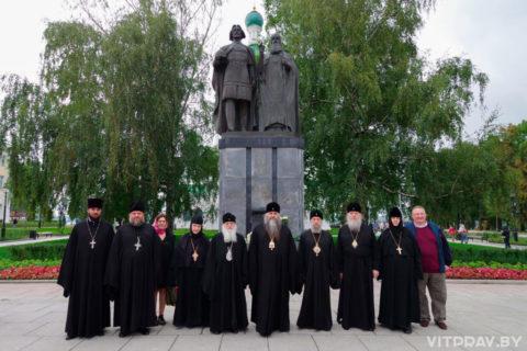 Архиепископ Димитрий вместе с архипастырями, прибывшими на празднование 800-летия Нижнего Новгорода, посетил обновленный кремль
