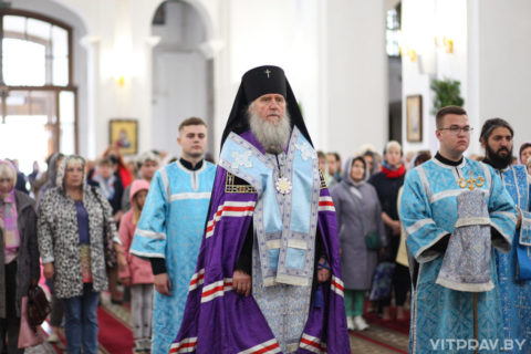 В Свято-Успенском кафедральном соборе города Витебска прошел торжественный молебен перед началом учебного года