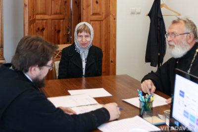 Завершились вступительные экзамены на богословско-педагогическом отделении Витебской духовной семинарии