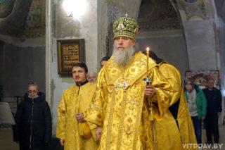 В канун Недели 17-й по Пятидесятнице архиепископ Димитрий совершил всенощное бдение в храме святой великомученицы Ирины