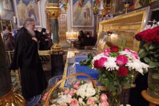 В праздник Покрова Пресвятой Богородицы сослужил митрополиту Нижегородскому и Арзамасскому Георгию в Свято-Троицком Серафимо-Дивеевском монастыре